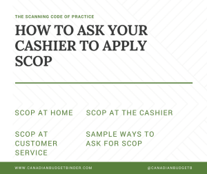 How To Ask Your Cashier To Apply SCOP : The Grocery Game Challenge 2017 #5 Nov 27-Dec 3
