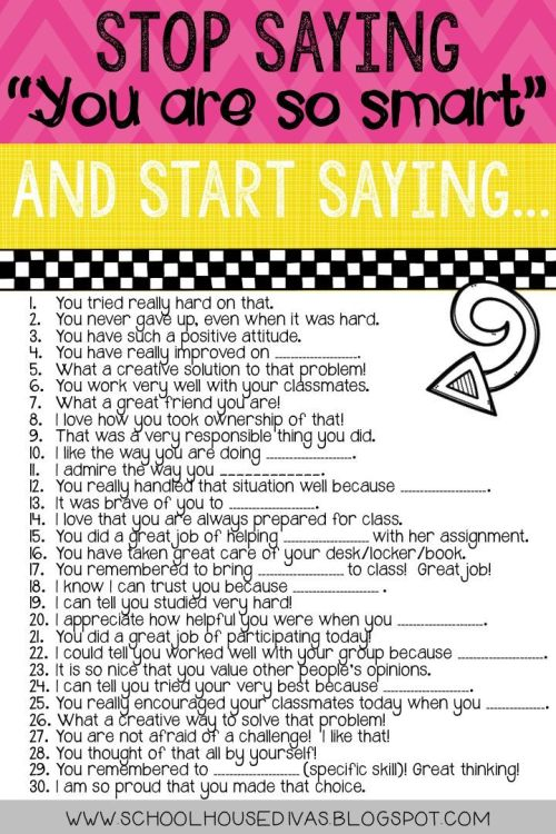 30 things to start saying to your child to grow a mindset
