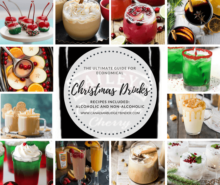 The Ultimate Guide Of Economical Christmas Drinks (Recipes) : The Grocery Game Challenge 2017 #2 Dec 11-17