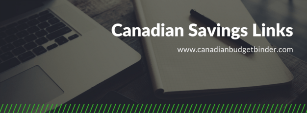 canadian savings links