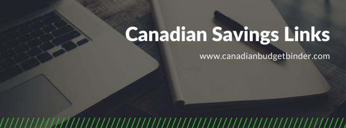 canadian savings links