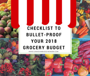 Checklist To Bullet-Proof Your 2018 Grocery Budget : The Grocery Game Challenge 2017 #3 Dec 18-24