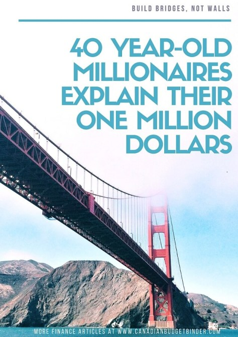40 year olds explain their one million dollars