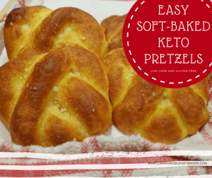 Soft Baked Low Carb Keto Pretzels To Go (Step By Step)