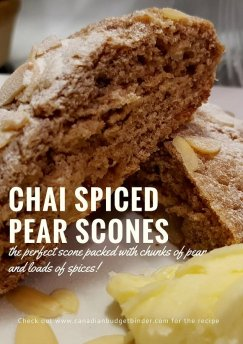 chai spiced pear scones 4 pinterest