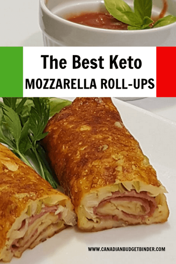 Italian keto Mozzarella Rolls
