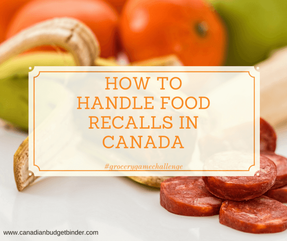 how to handle food recalls in canada-1
