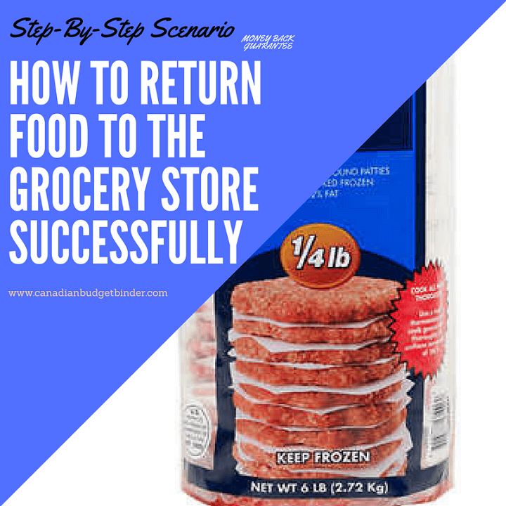 how to return food to the grocery store successfully
