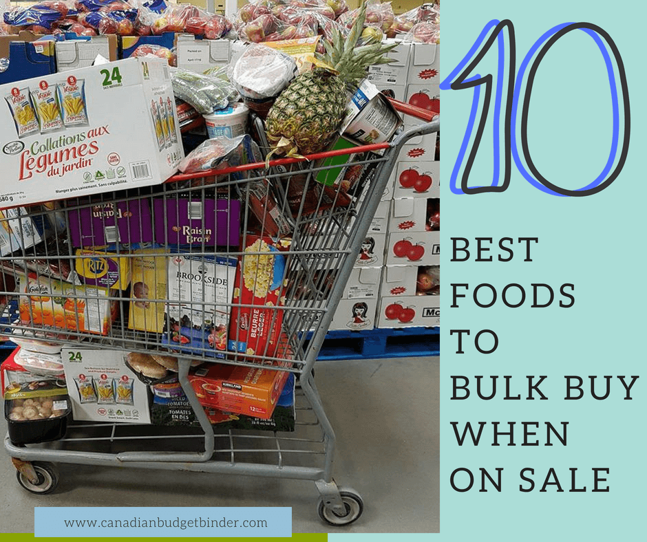 10 Best Foods To Bulk Buy When On Sale : The GGC 2018 #1 ...