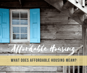 what does affordable housing mean cover photo