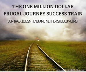 one million dollar frugal journey