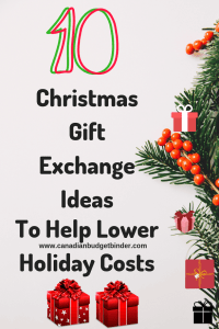 Christmas Gift Exchange Ideas to help lower costsChristmas Gift Exchange Ideas to help lower costs
