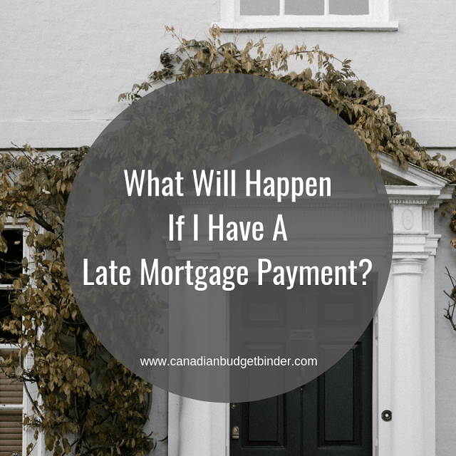 The Consequences Of Late Mortgage Payment