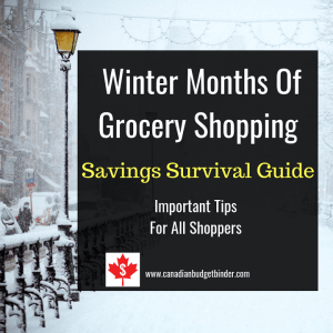 winter months of grocery shopping savings survival guide