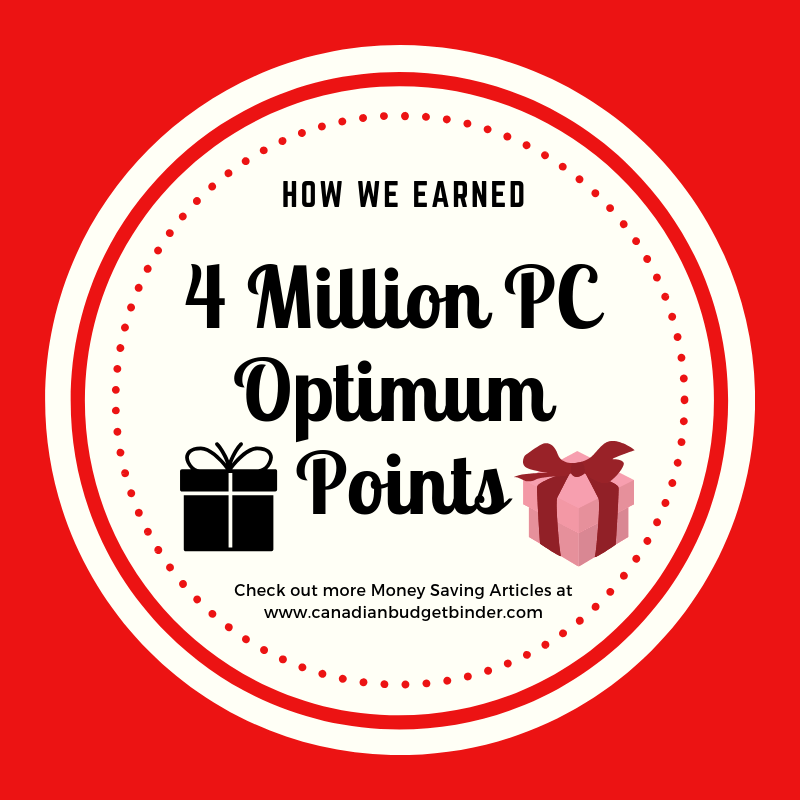 How We Earned 4 Million PC Optimum Points: The GGC 2018 #2 Dec 10-16