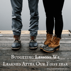 Budgeting Lessons We Learned After Our First year