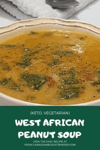 WEST AFRICAN PEANUT SOUP KETO 1