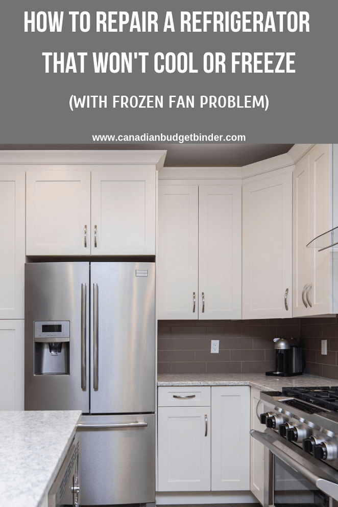 how to repair a refrigerator that won u0026 39 t cool or freeze