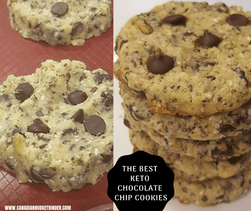 THE BEST KETO CHOCOLATE CHIP COOKIES cover 2