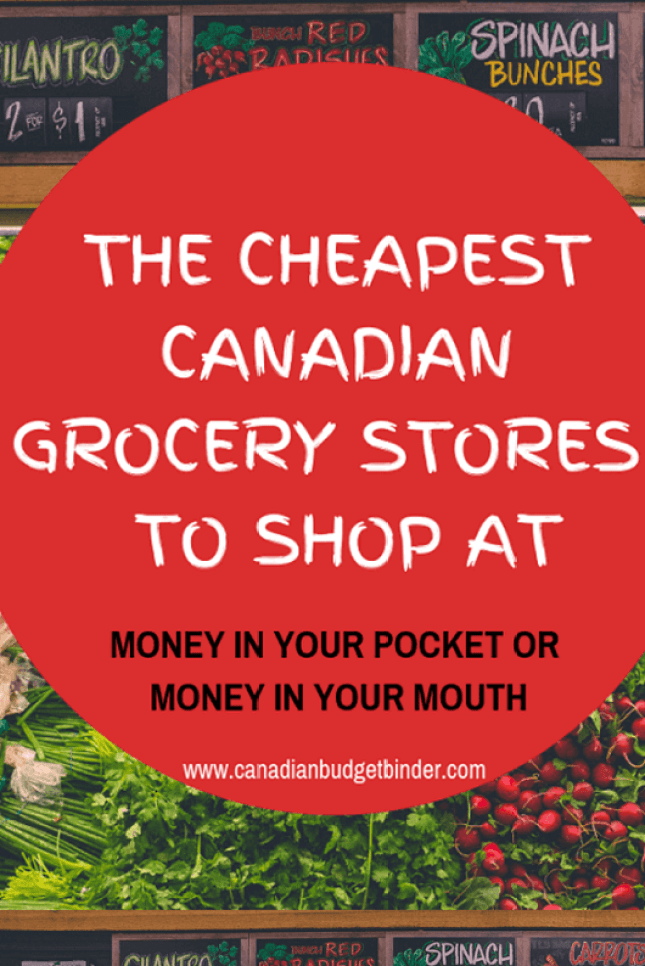 The Cheapest Canadian Grocery Stores To Shop At - Canadian Budget Binder