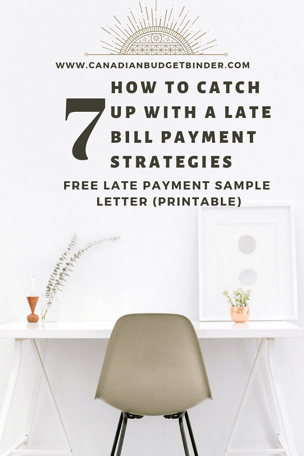 how to catch up with a late payment strategies