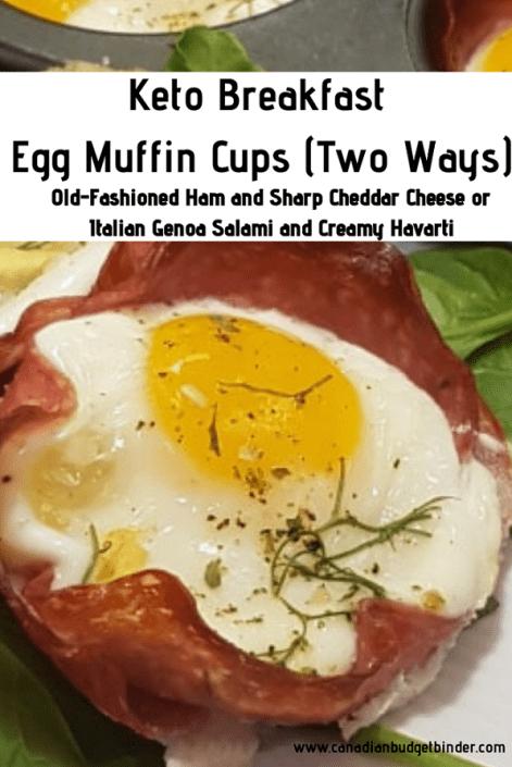 Breakfast Egg Muffin Cups (Two Ways)-2 Genoa SalamiBreakfast Egg Muffin Cups (Two Ways)-2 Genoa Salami