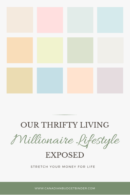 our thrifty living millionaire lifestyle exposed