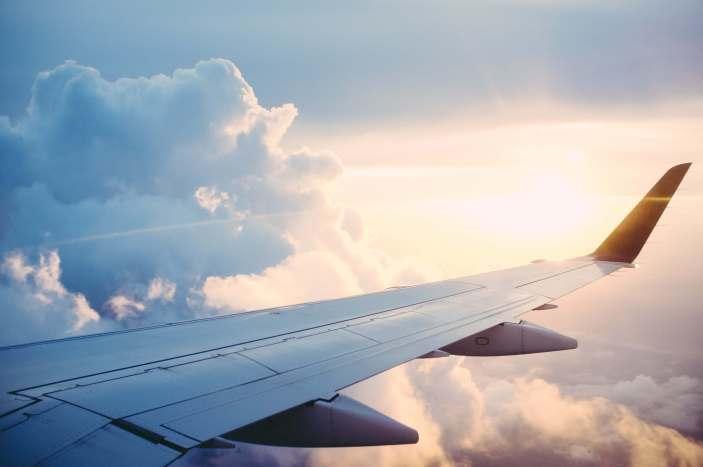 airplane spending money