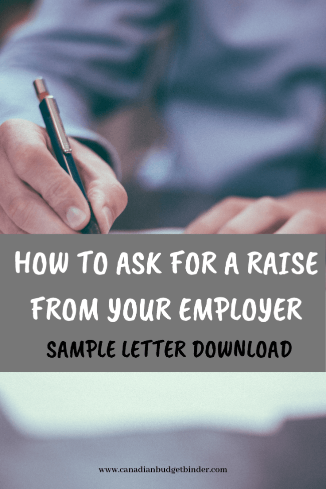 HOW TO ASK FOR A RAISE FROM YOUR EMPLOYER SAMPLE LETTER DOWNLOAD