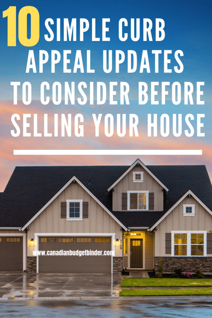 Simple Curb Appeal Updates To Consider Before Selling