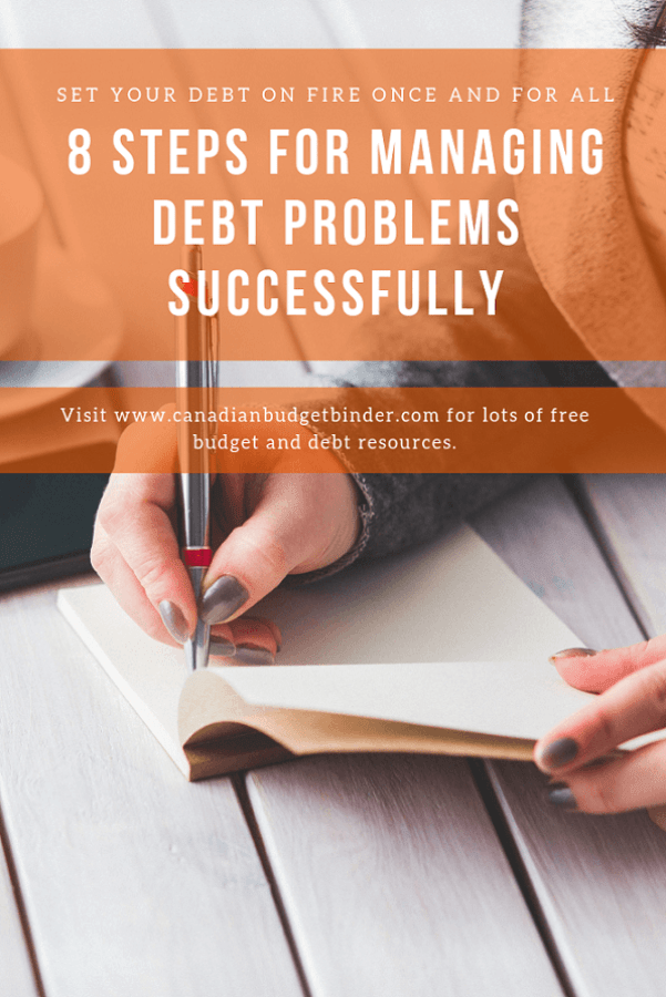 critical steps for managing debt problems successfully