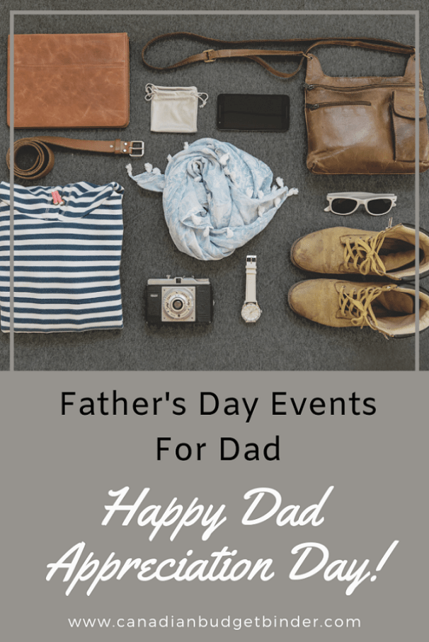 Things to do with dad on Father's day