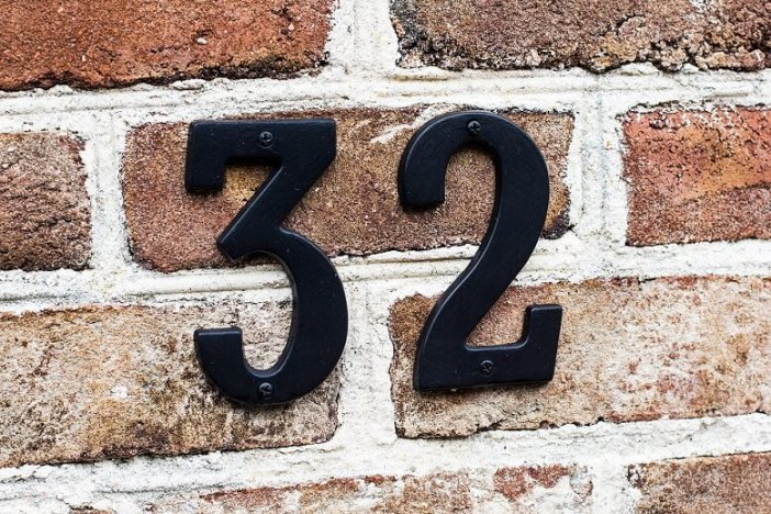 house number - house sale