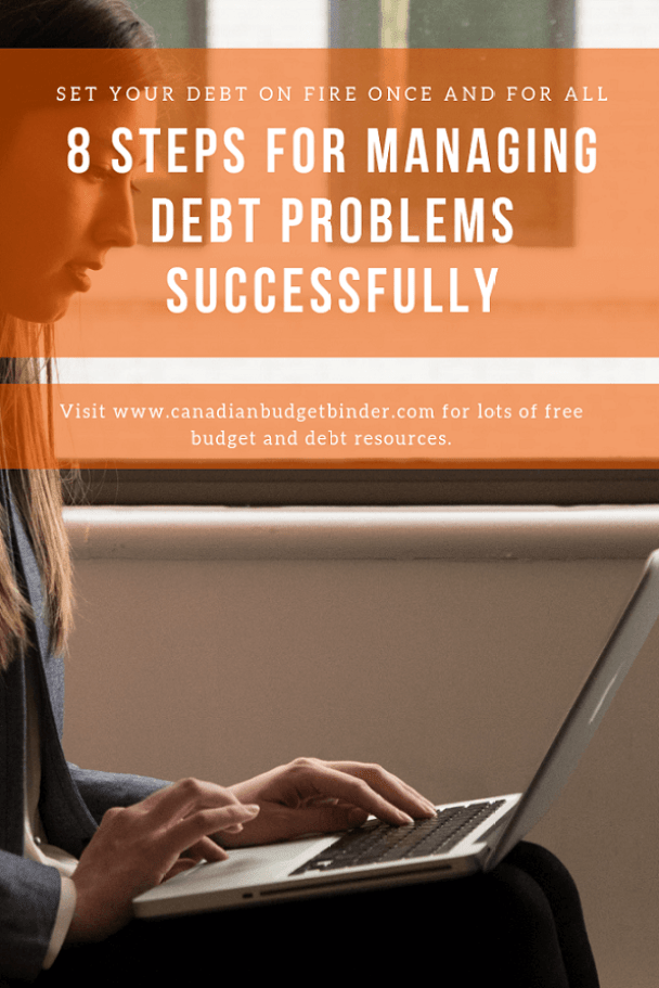 managing debt problems once and for all successfully