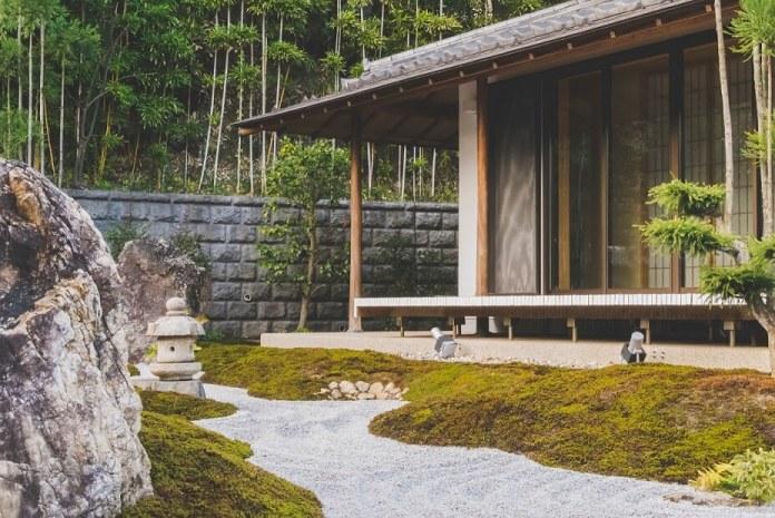 rock garden curb appeal