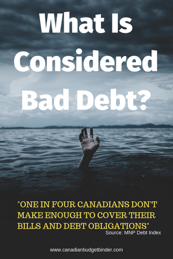 bad debt in Canada