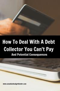 debt collections Canada