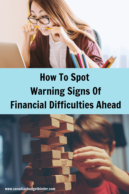 How To Spot Warning Signs Of Financial Difficulties Ahead : The Saturday Weekend Review #286