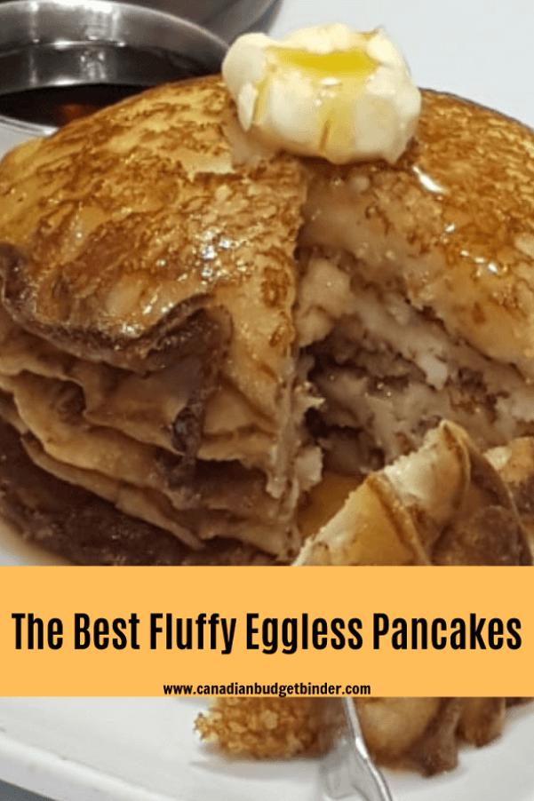 easy eggless pancakes