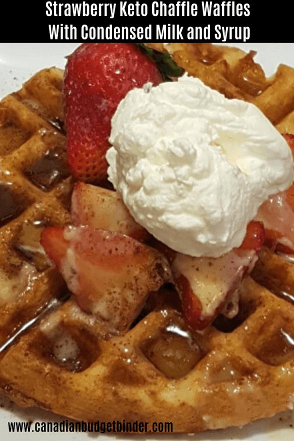 Chaffle Waffles