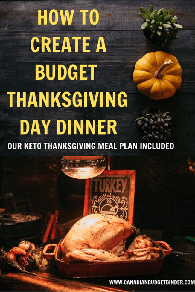 Keto Thanksgiving Day Meal Plan