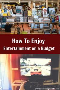 Entertainment Budget