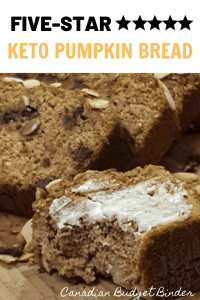 Low-Carb Pumpkin Bread