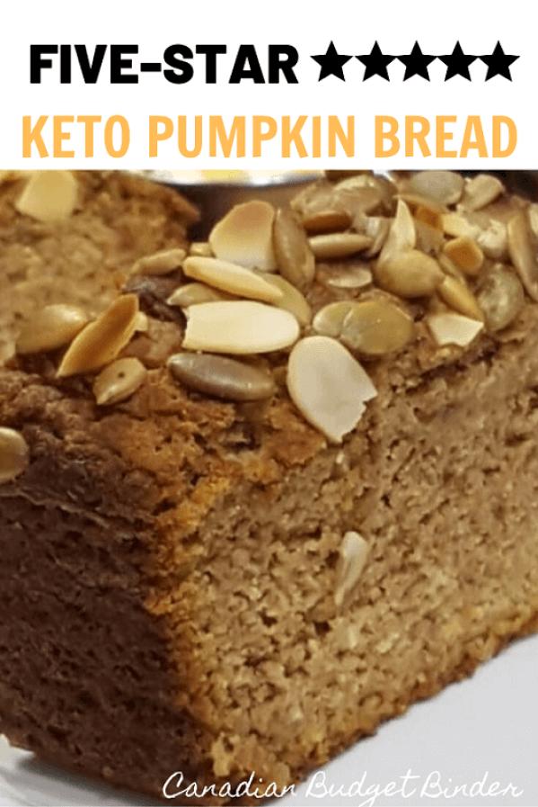 Easy Keto Pumpkin Bread