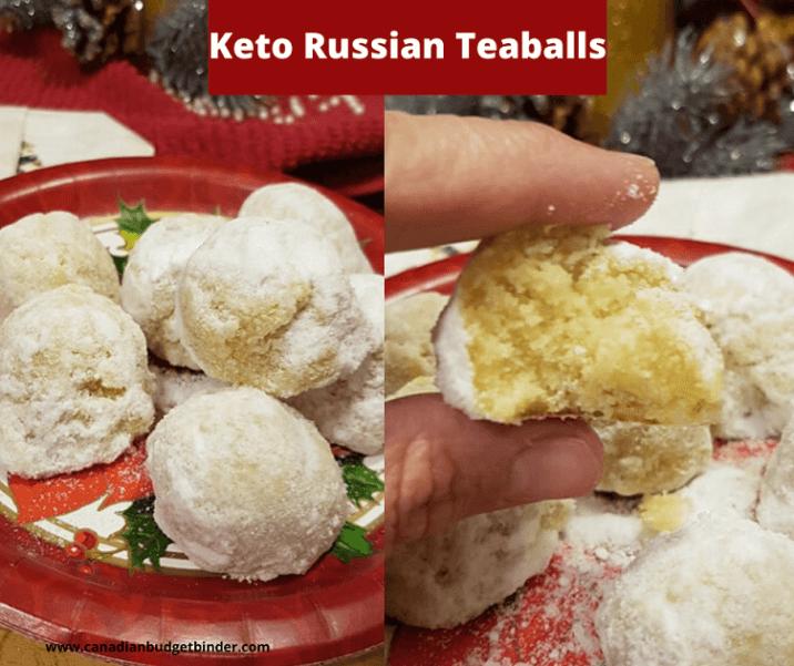 Keto Russian Teaballs
