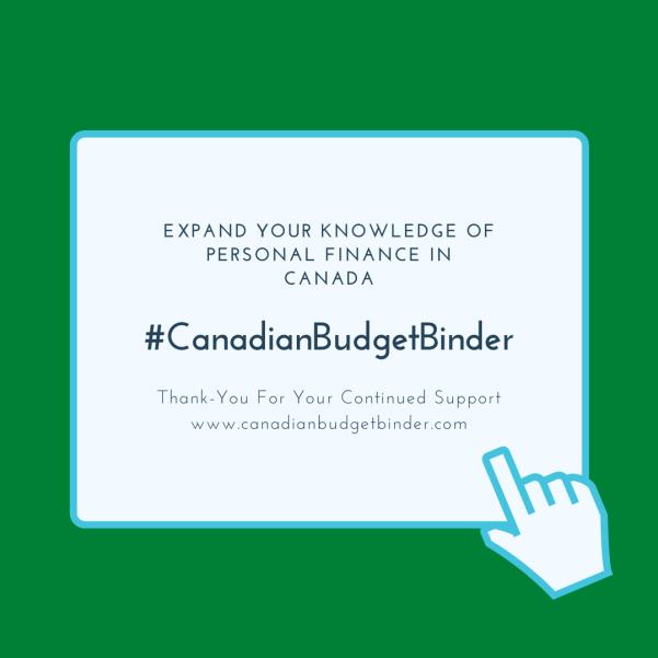 Canadian Budget Binder