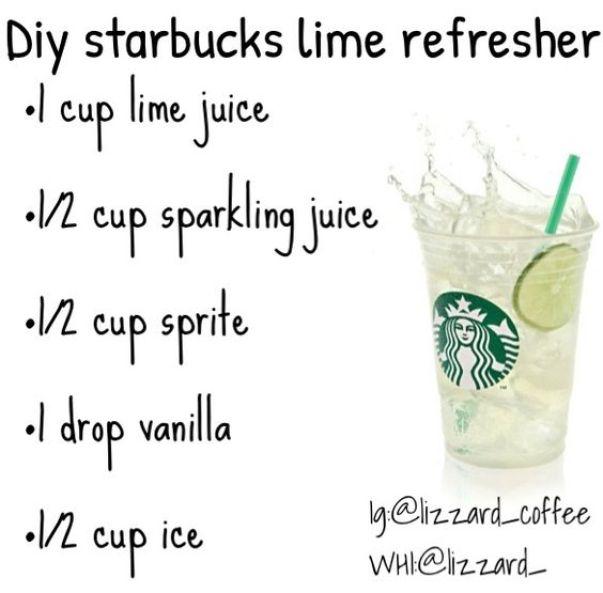 Starbucks Lime Refresher