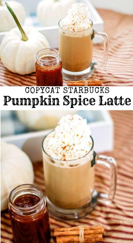 Pumpkin Spice Latte Recipe Starbucks