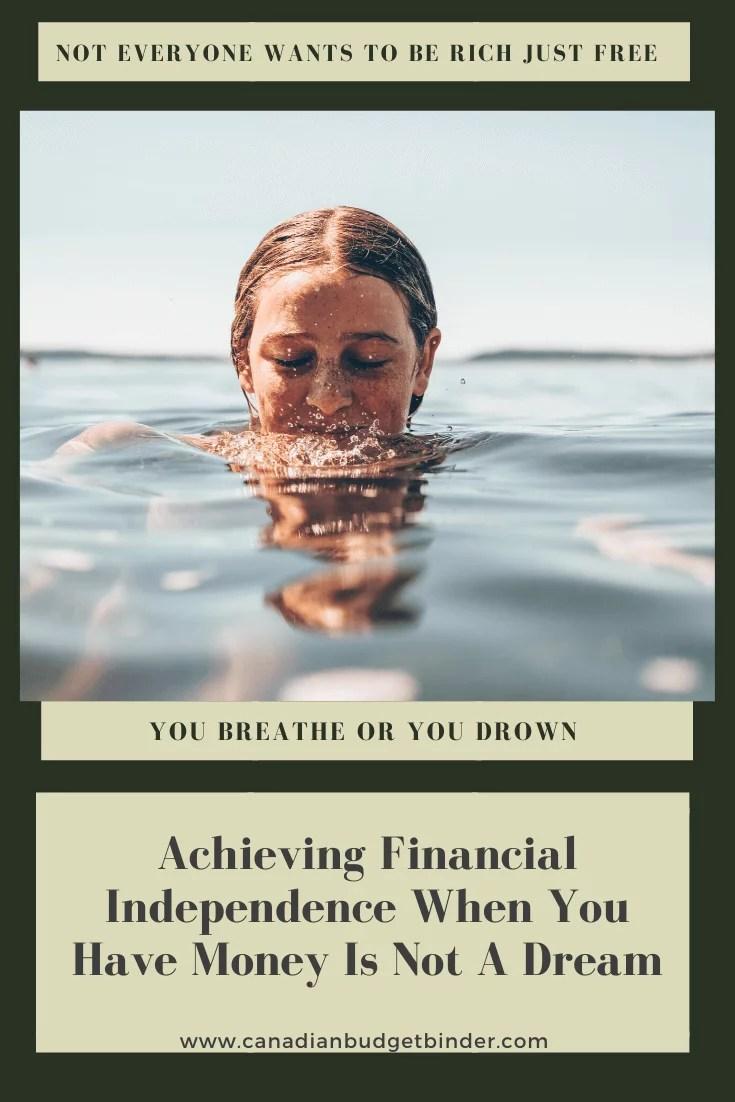 Conseguir independência financeira quando você tem dinheiro 1