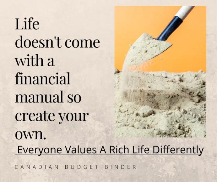 financial manual